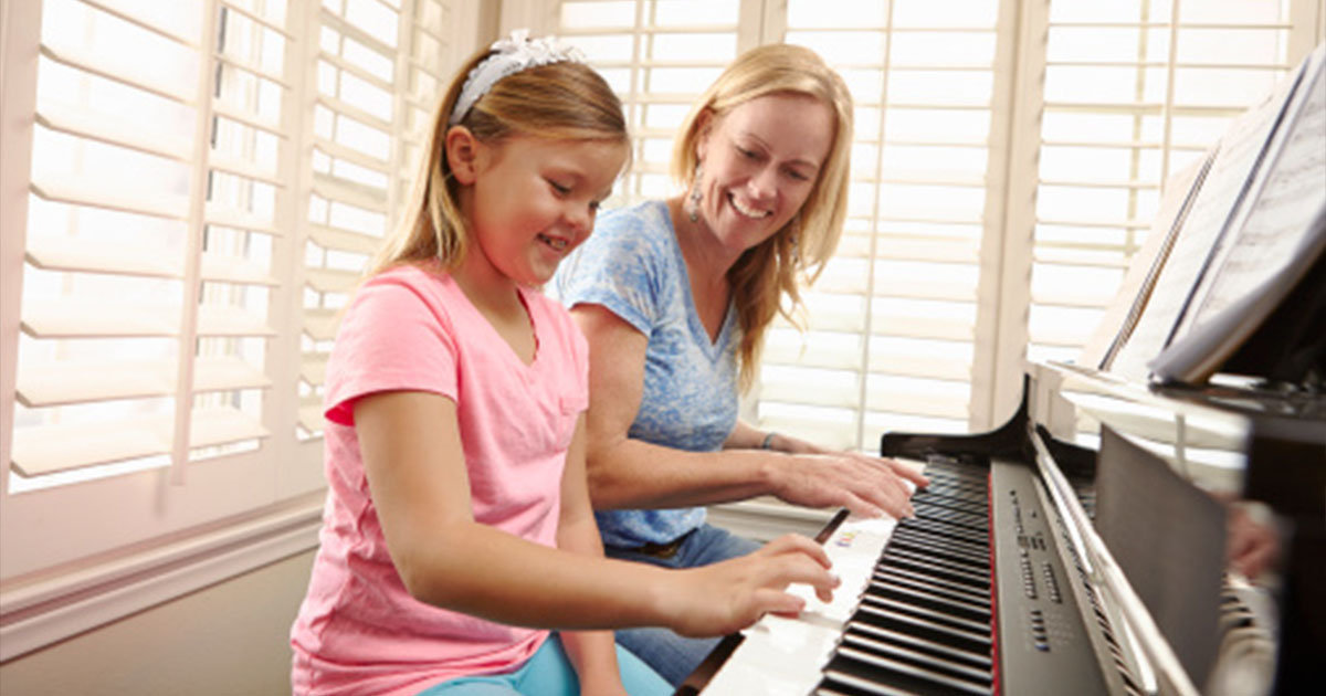 Adults Learning To Play The Piano