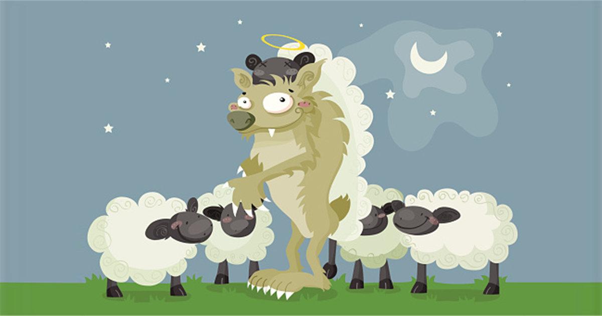 долорес картинки волки овечка бейсболке сеткой цветная