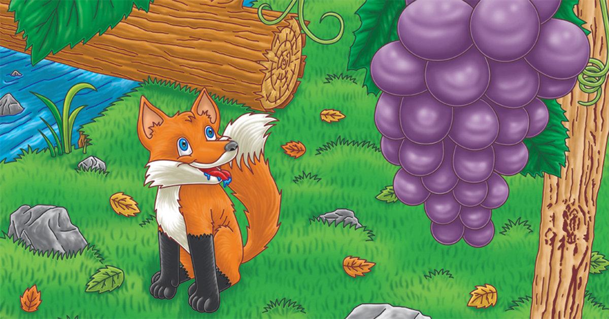 Медицинские, картинки лисица и виноград рисовать