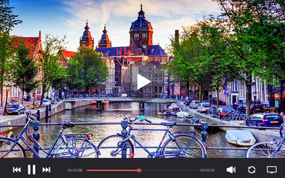 美しい街、アムステルダム